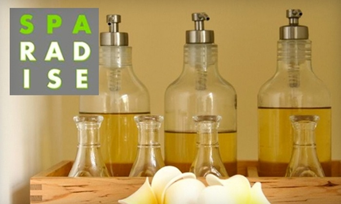 Sparadise - Multiple Locations: $30 for a One-Hour Massage at Sparadise Thai Massage (Up to a $55 Value)