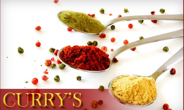 Curry's - South London: $8 for $20 Worth of Indian Cuisine and Drinks at Curry's Restaurant