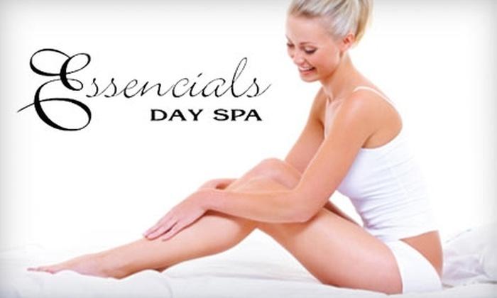 Essencials Day Spa - Lenox: $99 for Four Laser Hair-Removal Treatments at Essencials Day Spa in Lenox