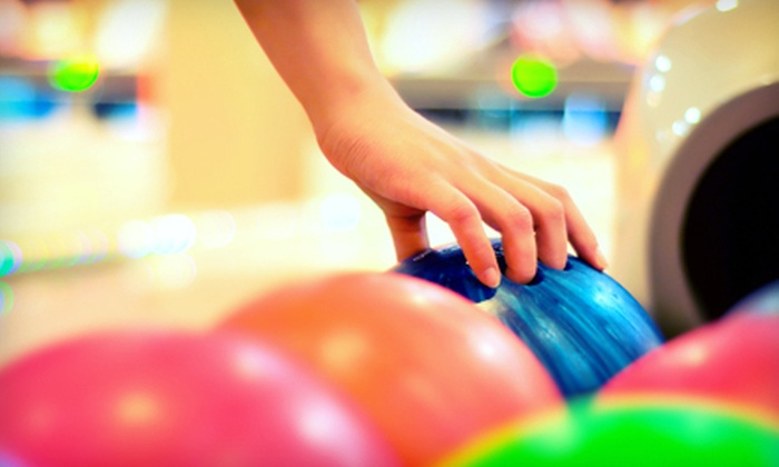 Andover Lanes - Andover Lanes: $29 for Bowling Outing with Shoe Rental, Pizza, and Soda for Up to Five at Andover Lanes (Up to $73.73 Value)