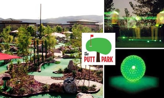 The Putt Park Miniature Golf Course - Rhodes Ranch: $15 for Four Rounds at The Putt Park Miniature Golf Course