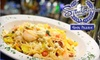 Santorini Taverna  - Eden Prairie: $30 for Unlimited Brunch and Drinks for Two at Santorini Taverna