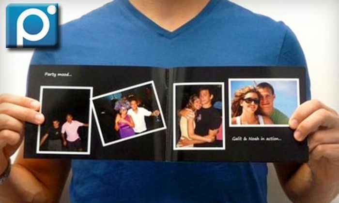 "Pixable: $10 for One Hardcover 8""x8"", 16-Page Photo Book from Pixable ($30.94 Value)"