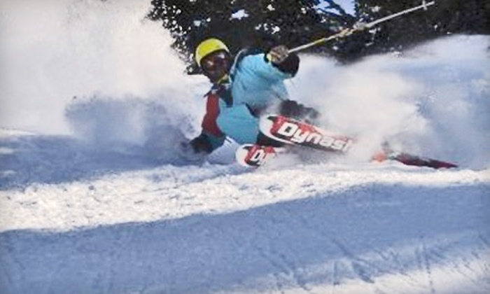 One-Day Ski or Snowboard Rental Packages at Banff Springs Ski Shop. Five Options Available.