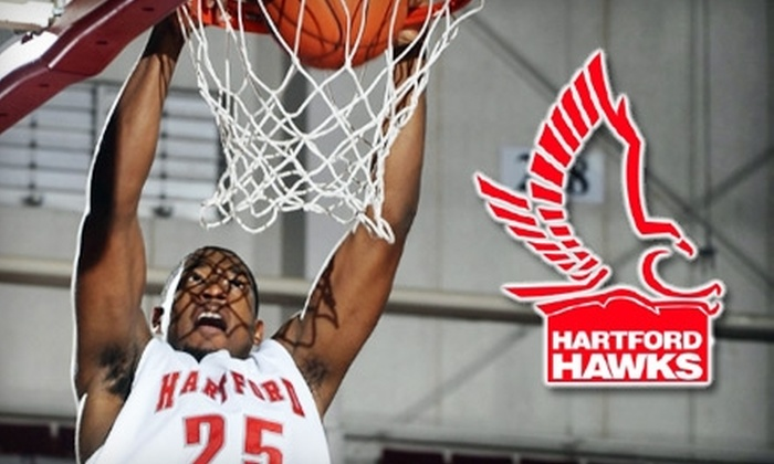 University of Hartford Athletics - West Hartford: $7 for a Lower-Level Ticket to a University of Hartford Men's Basketball Game (Up to $15 Value). Choose from Four Dates
