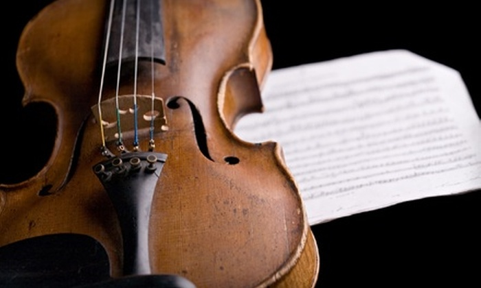 Southern Arizona Symphony Orchestra - Catalina Citrus Estates: $20 for Two Tickets to Southern Arizona Symphony Orchestra at St. Andrew's Presbyterian Church on October 9 ($40 Value)