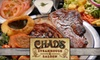 Chad's Steakhouse & Saloon - Ward 2: $15 for $30 Worth of Steaks, Sandwiches, Drinks, and More at Chad's Steakhouse & Saloon