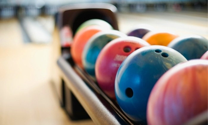 Sport Bowl of Sioux Falls - West Sioux: Bowling, Shoe Rentals, and Concessions for One or Four at Sport Bowl of Sioux Falls