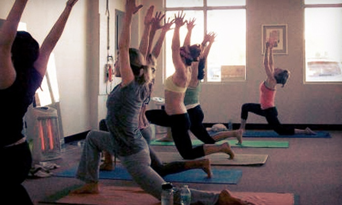 Hot Salutations - Coconut Creek: 5 or 10 Hot-Yoga Classes or One Month of Unlimited Hot-Yoga Classes at Hot Salutations (Up to 67% Off)