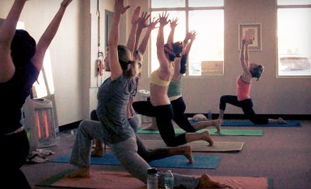 5 or 10 Hot-Yoga Classes or One Month of Unlimited Hot-Yoga Classes at Hot Salutations (Up to 67% Off)