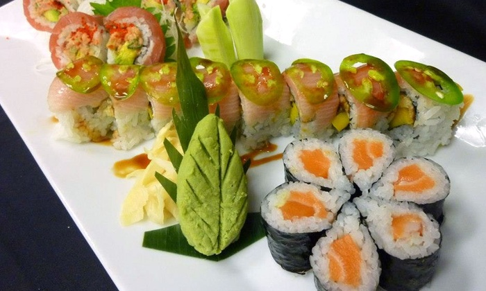 Rice Bistro & Sushi  - Multiple Locations: Sushi and Chinese Food at Rice Bistro & Sushi (Up to 45% Off). Two Options Available.