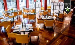LEONARDO RESTAURANT: Menu di pesce con 4 portate e bottiglia di vino da Leonardo Restaurant (sconto fino a 74%)