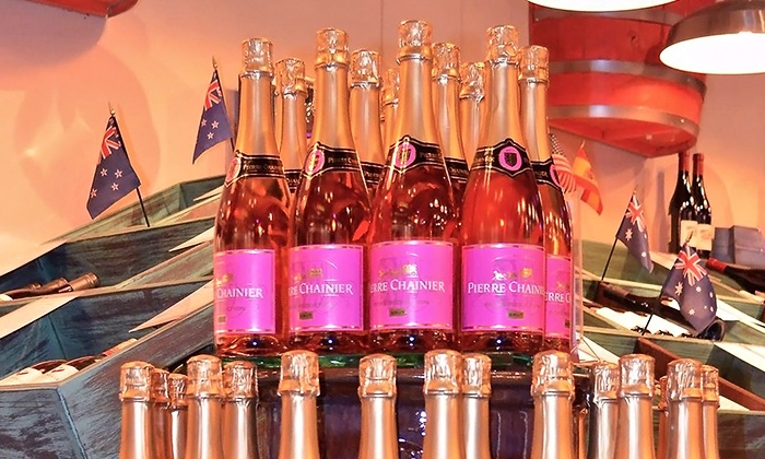 Wine Warehouse - North Scottsdale: Wine Tasting Plus One or Two Bottles of Champagne for Valentine's Day at Wine Warehouse (51% Off)