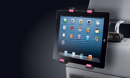 Car-Headrest Tablet Mount in Black/Gray or Black/Pink. Free Returns.
