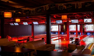Bex Bar & Grill: Food, Drink, and Bowling at Bex Bar & Grill (Up to 47% Off). Four Options Available.