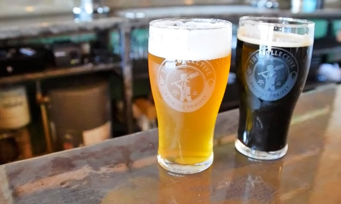 The Collective Brewing Project - Fort Worth: Brewery Visit for 2, 4, or 6 with Glasses and Free Samples at The Collective Brewing Project (Up to 46% Off)