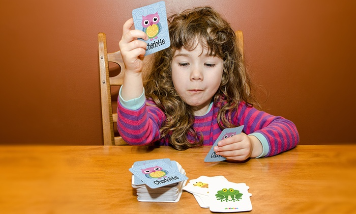 Personalized Memory-Game Sets for Kids from Dinkleboo (Up to 70% Off)