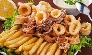 La Perla (Valmadrera): Menu di 3 portate con 1 kg di frittura mista di pesce e vino (sconto 63%)