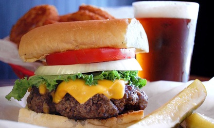 American Food for Dine-in or Takeout at Burgers-N-Beer (Up to 47% Off)