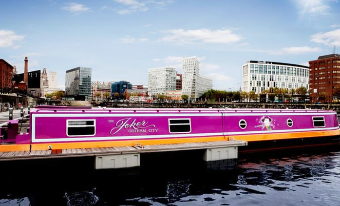 Liverpool: 1 Night 5* Luxury Boat Stay For Up to Six, Eight or Nine at Hollywood Apartments & Barges