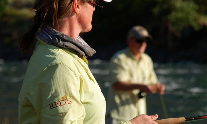 Red's Fly Shop - Kittitas: Fly Fishing 101 Class with 13 Flies, or Fly Fishing 101 and 201 with 13 Flies at Red's Fly Shop (Up to 61% Off)