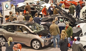 Rochester International Auto Show: Single-Day Admission for Two to Rochester International Auto Show on March 3–6. Two Options Available.