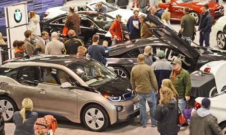 Single-Day Admission for Two to Rochester International Auto Show on March 3–6. Two Options Available.