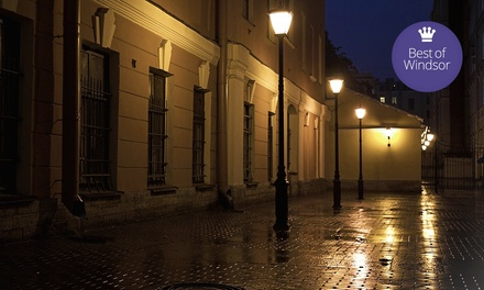 Haunted-History Walking Tour for Two or Four with Ghost-Hunting Equipment from Spirit Expeditions (50% Off)