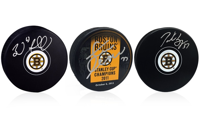 Autographed Hockey Pucks from Yoursportsmemorabiliastore.com (Up to 41% Off). 16 Players Available.