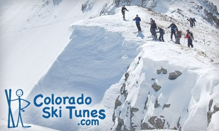 Colorado Ski Tunes - Multiple Locations: $20 for a Ski or Snowboard Pro Tune from Colorado Ski Tunes ($45 Value)