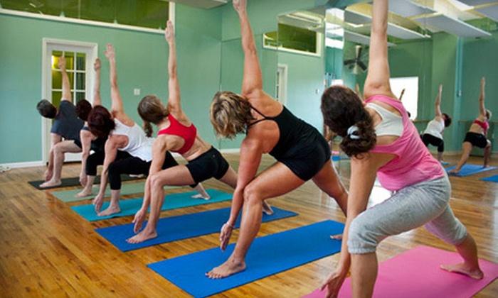 Hot Yoga Rockaway Beach - Rockaway Peninsula: 5 or 10 Yoga Classes or One Month of Unlimited Yoga Classes at Hot Yoga Rockaway Beach in Queens (Up to 77% Off)