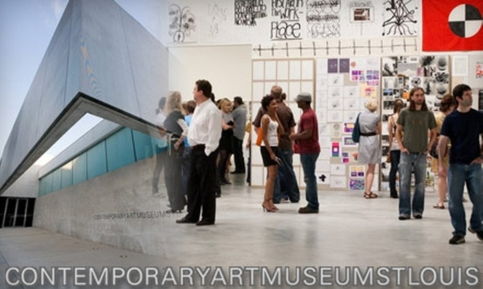 Contemporary Art Museum St. Louis - Grand Center: Up to 56% Off Membership to the Contemporary Art Museum St. Louis.  Choose from Two Options.
