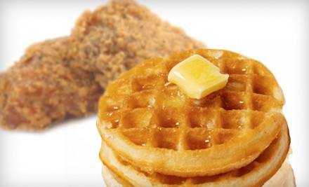 Chicken-and-Waffle Dinner for 2 - Buffalo's Chicken Shack in Wood-Ridge