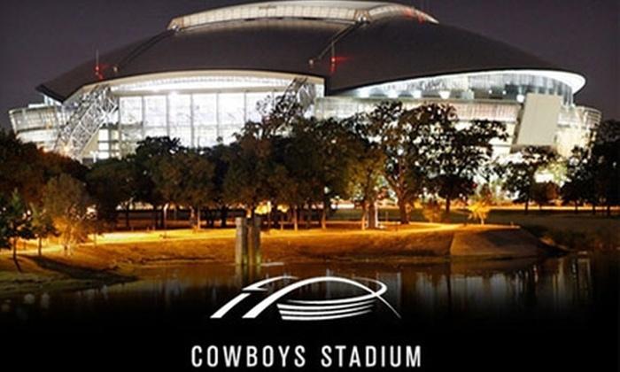 Dallas Cowboys Stadium - Arlington: Behind-the-Scenes Tour of Cowboys Stadium. Choose One of Two Tours.