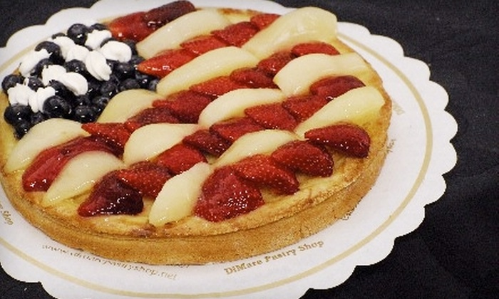 DiMare Pastry Shop - Multiple Locations: $15 for $30 Worth of Gourmet Baked Goods at DiMare Pastry Shop