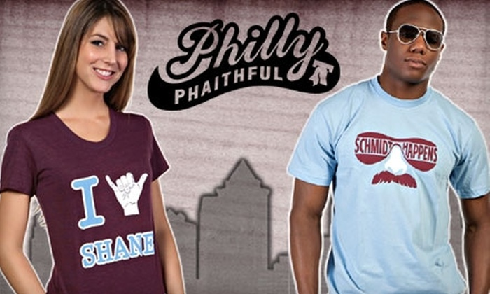 PhillyPhaithful: $20 for $40 Worth of Sports Apparel at PhillyPhaithful