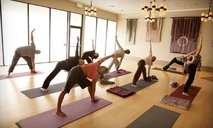 Soul at Home - Tustin: $39 for One Month of Unlimited Yoga Classes at Soul at Home in Tustin (Up to $95 Value) or $30 for Massage and Yoga Class ($62 Value)