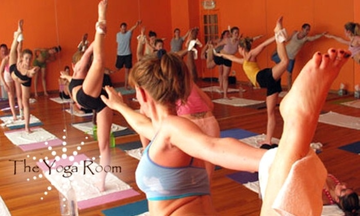 The Yoga Room - Multiple Locations: $18 for 10 Days of Unlimited Yoga and Pilates Classes at The Yoga Room ($40 Value)