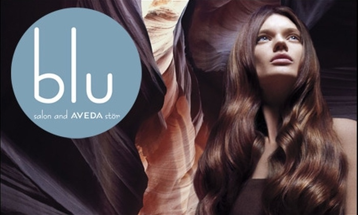 BLU Salon and Aveda Stör - Los Angeles: $79 for $160 Worth of Express Spa Services at Blu Salon and Aveda Stör