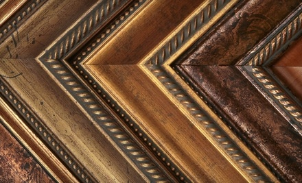 $100 Groupon to Woodland Art & Frame - Woodland Art & Frame in Spring