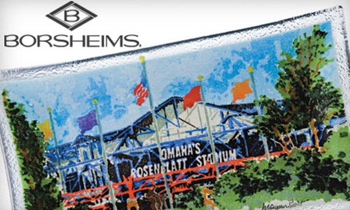 Borsheims - Central Omaha: $27 for Rosenblatt Stadium Commemorative Tray from Borsheims