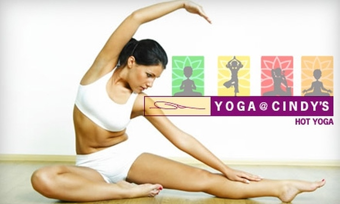 Yoga at Cindy's - Sunnyvale: $15 for Three Heated Yoga Classes at Yoga at Cindy's
