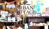 Half Off Goods from Urban Cottage