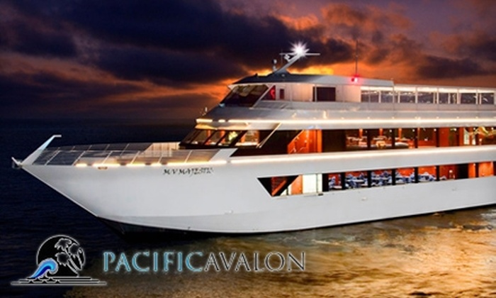Pacific Avalon Yacht Charters - Newport Beach: $299 for Two Tickets to the Pacific Avalon Yacht Charters Valentine's Cruise on February 13 or 14 ($640 Value)