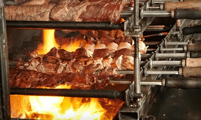 Greengrill Rodizio - Hackensack: $28 for All-You-Can-Eat Brazilian Barbecue Dinner for Two at Greengrill Rodizio in Hackensack (Up to $59.90 Value)