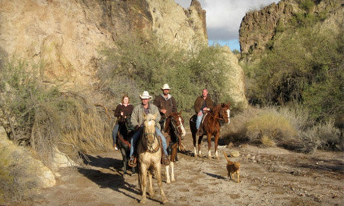 Cowboy Way Adventures - Wickenburg: Two- or Three-Hour Guided Horseback Trail Ride for One or Two at Cowboy Way Adventures in Wickenburg (Up to 55% Off)
