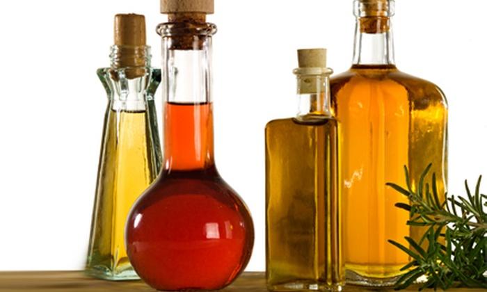 O'Live A Little - South Windsor: Small or Large Bottle of Olive Oil or Balsamic Vinegar at O'Live A Little in South Windsor