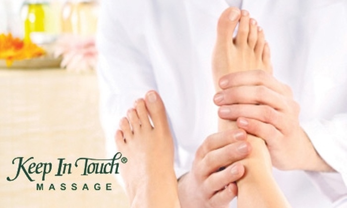 Keep In Touch Massage - Burnsville: $40 for a One-Hour Foot Reflexology Treatment at Keep In Touch Massage ($80 Value)