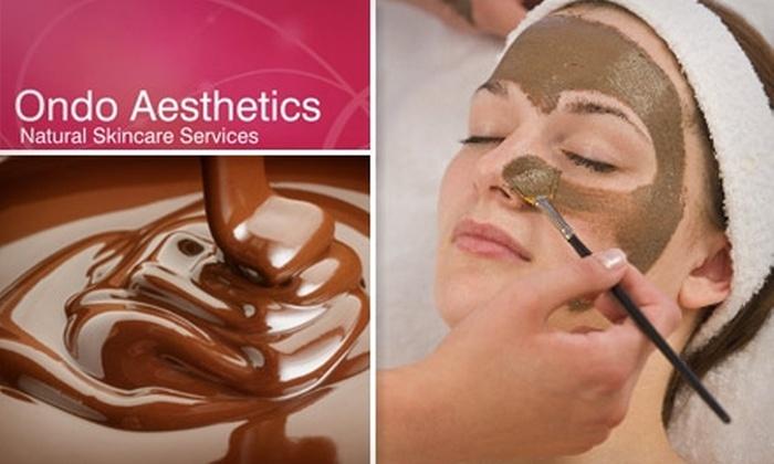 Ondo Aesthetics  - Rhodes Ranch: $39 for a Healthy Chocolate Facial at Ondo Aesthetics