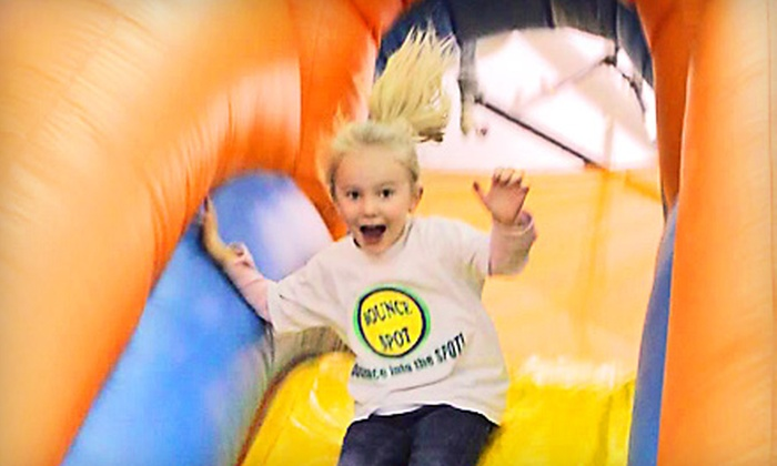 Bounce Spot - Greenwood: Five, Seven, or 10 Open-Play Visits to Bounce Spot in Greenwood